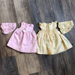 Other - (2) NB baby girl dresses